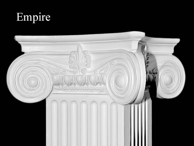 #53 Empire Fluted Column Detail