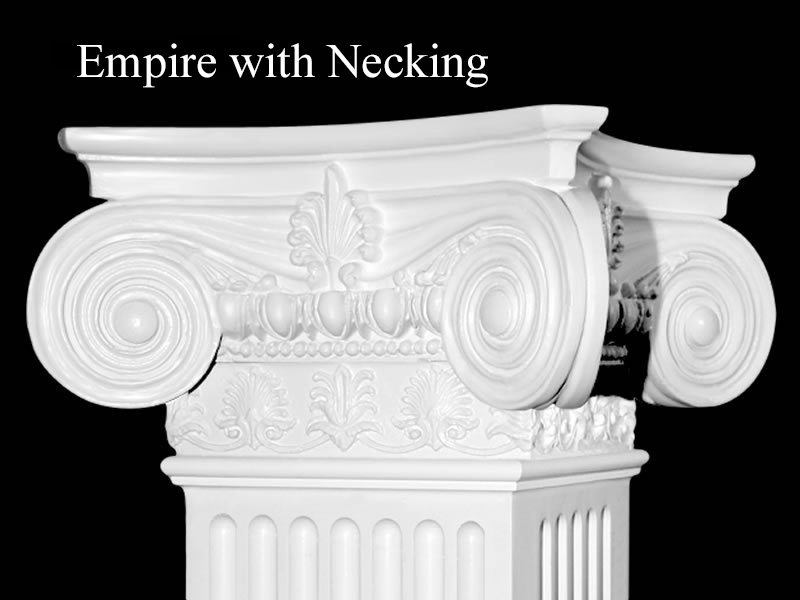 #55 Empire Column with Necking - Detail