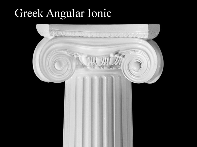 #49 Greek Angular Ionic Column