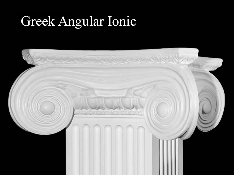 #56 Greek Angular Ionic Column