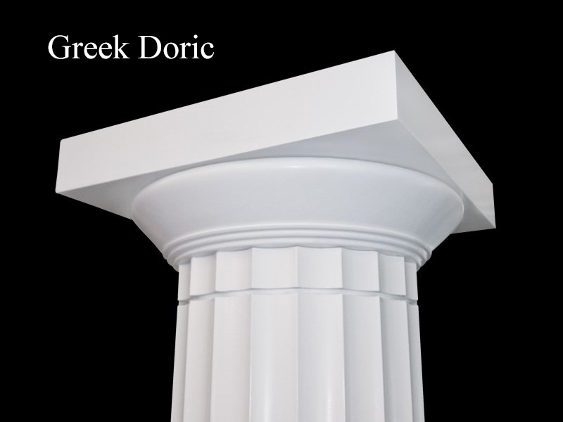 #57 Greek Doric Fluted Column