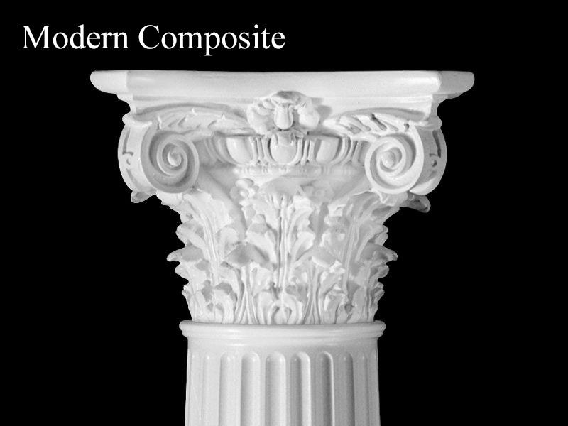 #62 Modern Acanthus Leaf Column