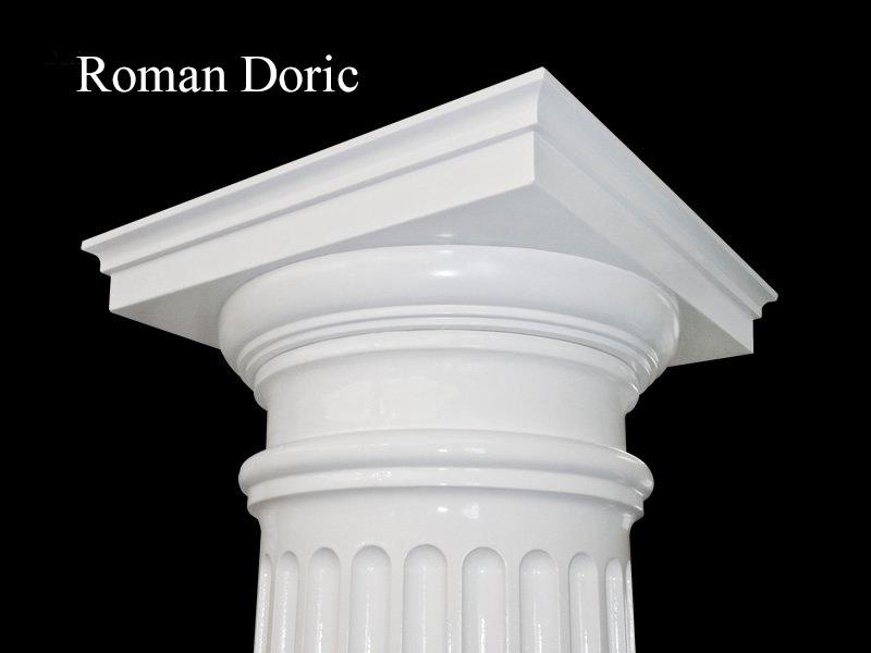#66 Fluted Roman Doric Column