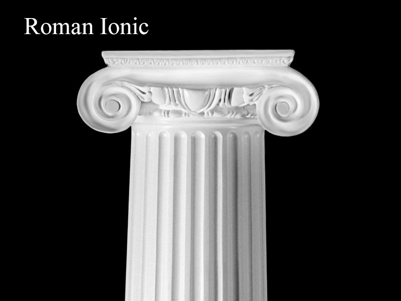 Architectural Columns And Pillars : Visual architectural element glossary