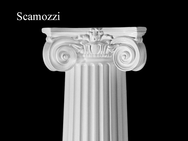 #69 Fluted Scamozzi Column