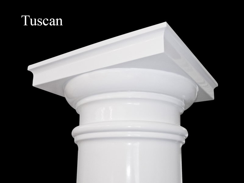 #72 Fluted Tuscan Column