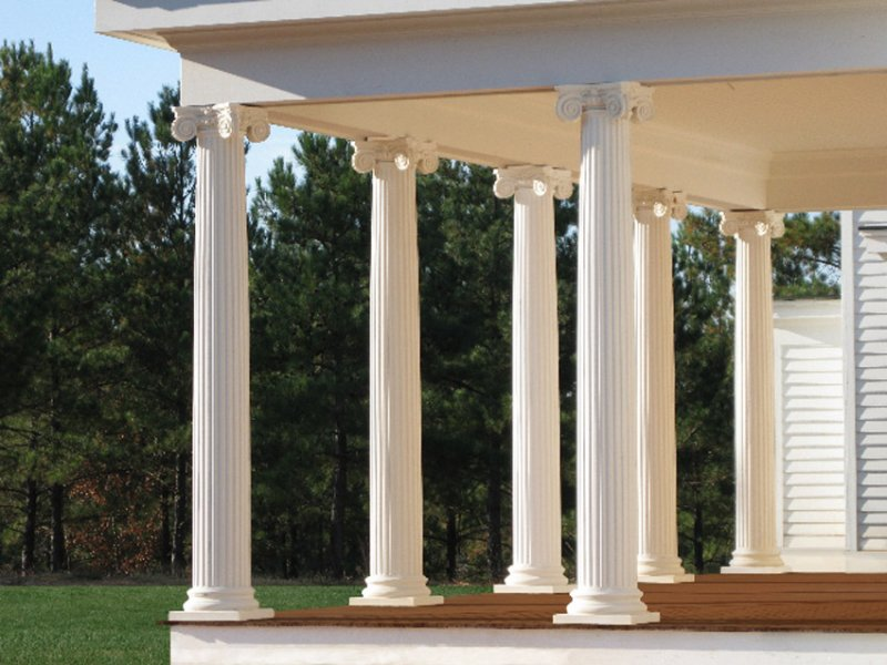 #25 Fluted Scamozzi Ionic Columns