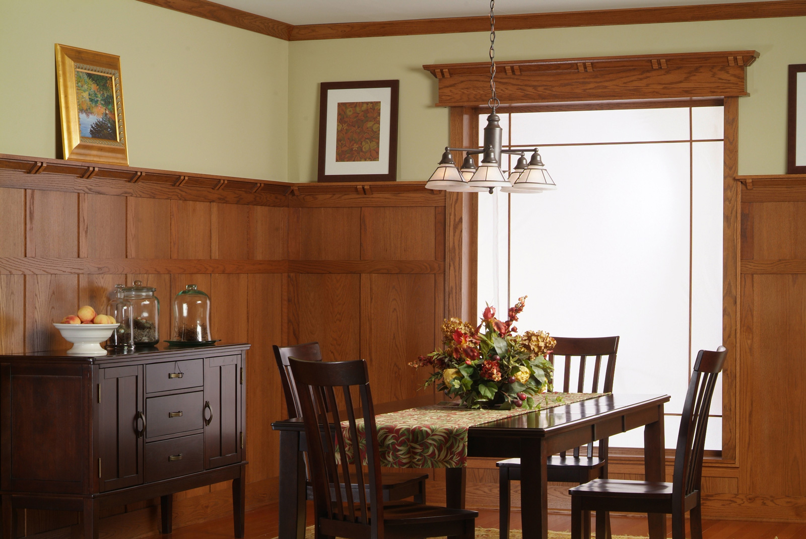 architectural wall paneling | traditional | craftsman | wright