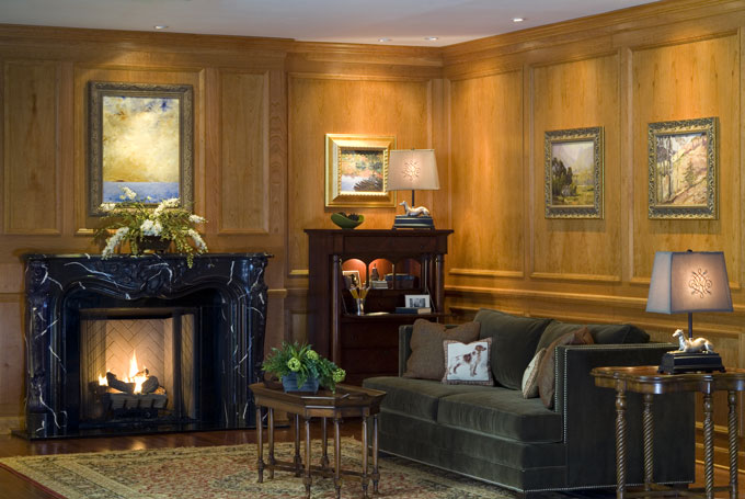 Traditional Raised Molding Paneling By Design The Space